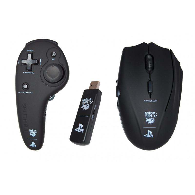 SplitFishGameware FragFX Shark PS4 - Mouse controller for PS4