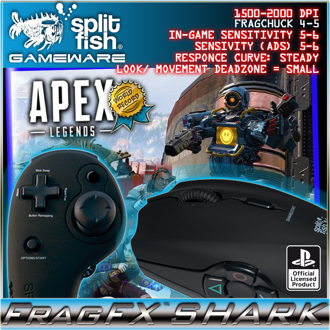 Recommended Game Settings - FragFx Shark PS4 - Community
