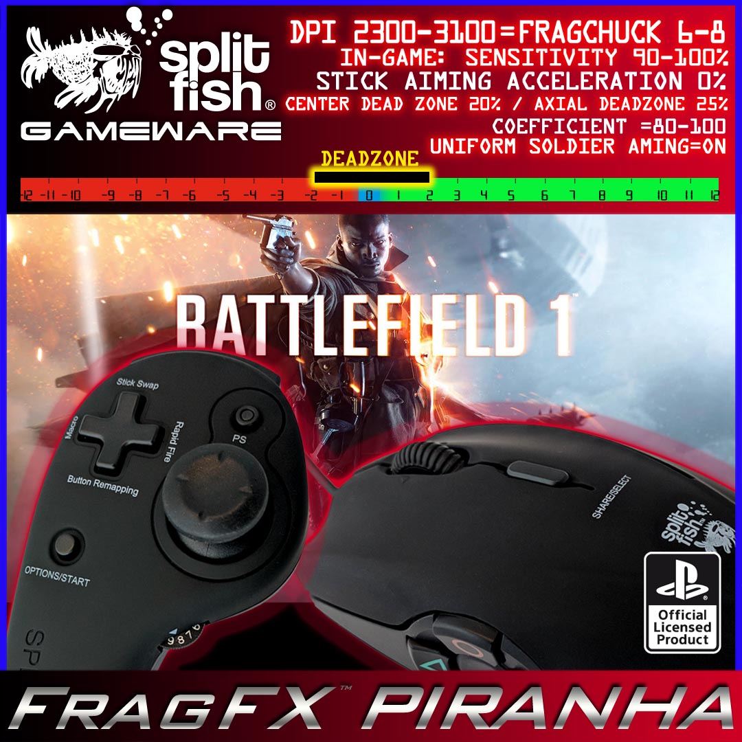 Recommended Game Settings - FragFx Piranha PS4 - Community