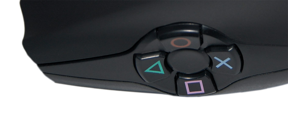 Fast access to gaming buttons  - FragFX Shark